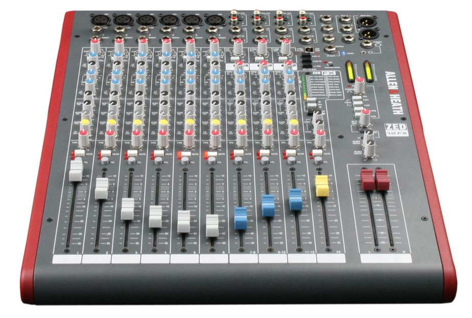 Allen & Heath Zed-12fx 12-Channel Mixer