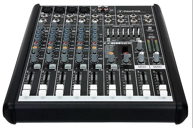 Mackie Profx8v2 8-Channel Compact Mixer